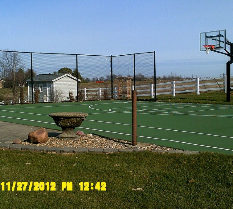 AFC Sioux City - 10' Black Chainlink Fencing