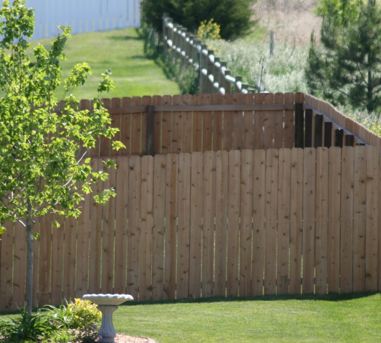 AFC Sioux City - Wood Fencing, 1021 6' Solid Privacy