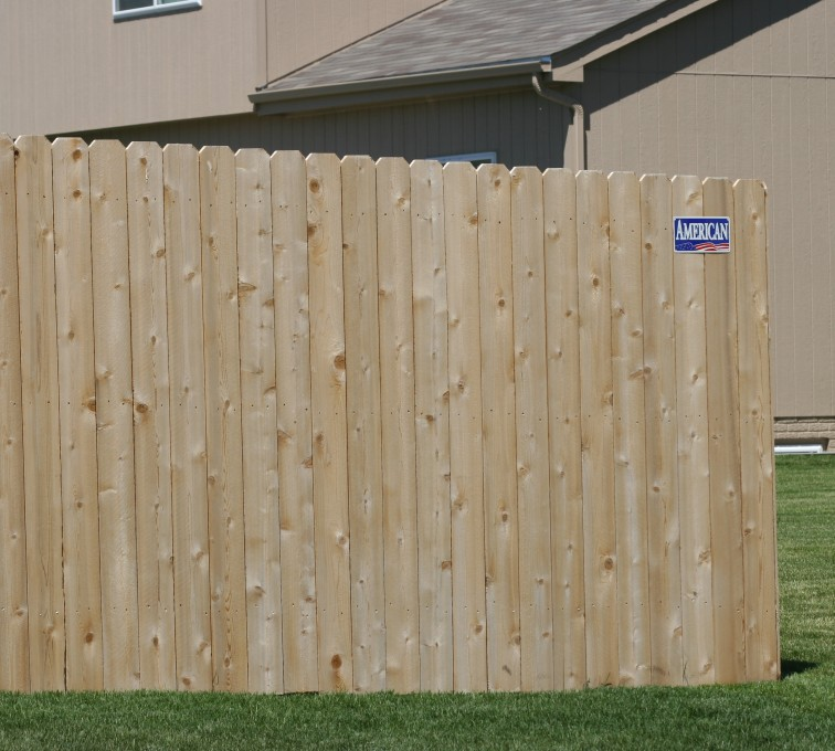 AFC Sioux City - Wood Fencing, 1022 6' solid privacy