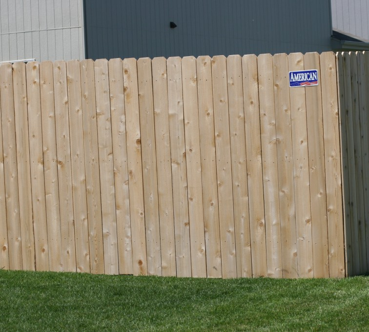 AFC Sioux City - Wood Fencing, 1023 6' solid privacy