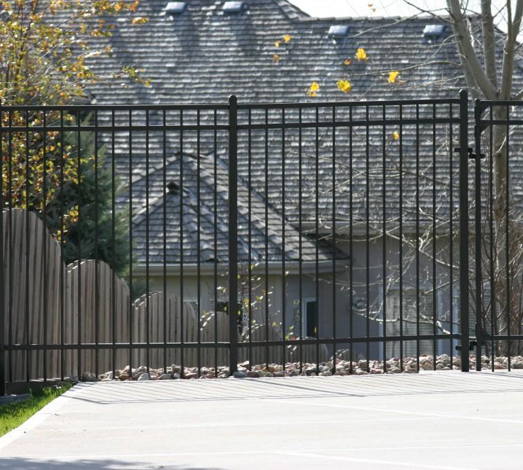 AFC Sioux City - Ornamental Flat Top Fence
