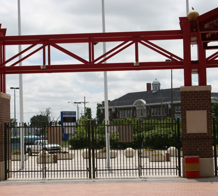 AFC Sioux City - Bronze Ornamental Rosenblatt Stadium Fence