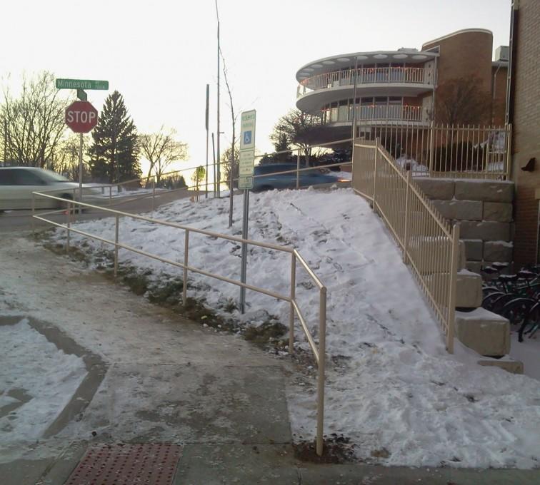 AFC Sioux City - Custom Sidewalk Railing