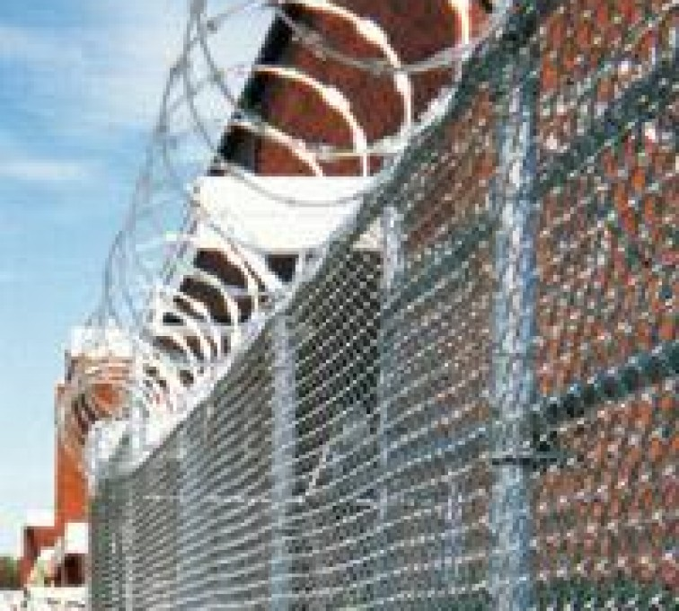 AFC Sioux City - Prison Fencing with Razor wire