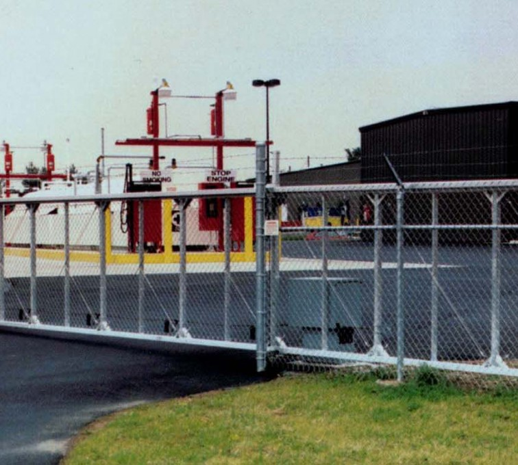 AFC Sioux City - TyMetal Aluminum Structural Cantilever Gate