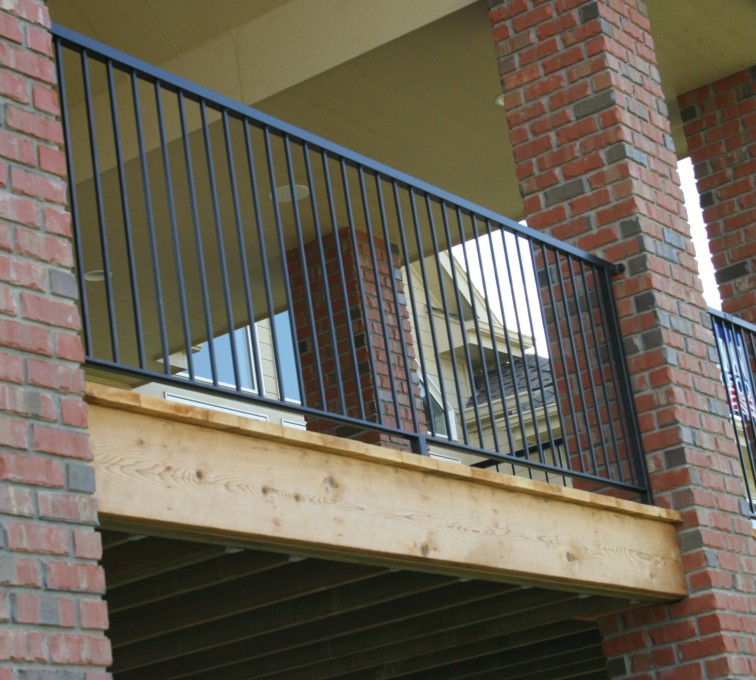 AFC Sioux City - Residential deck railing