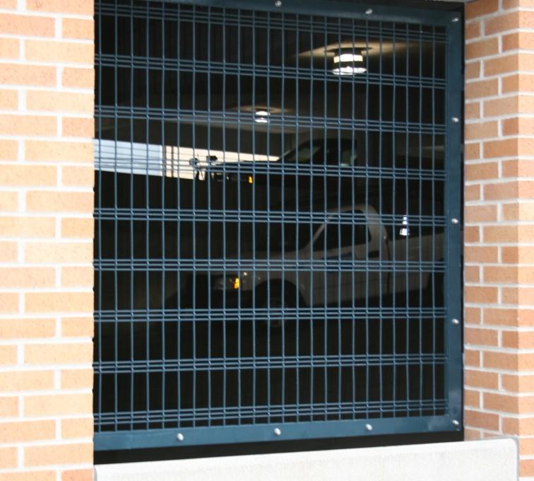 AFC Sioux City - Bar Grating for Parking Garage Windows