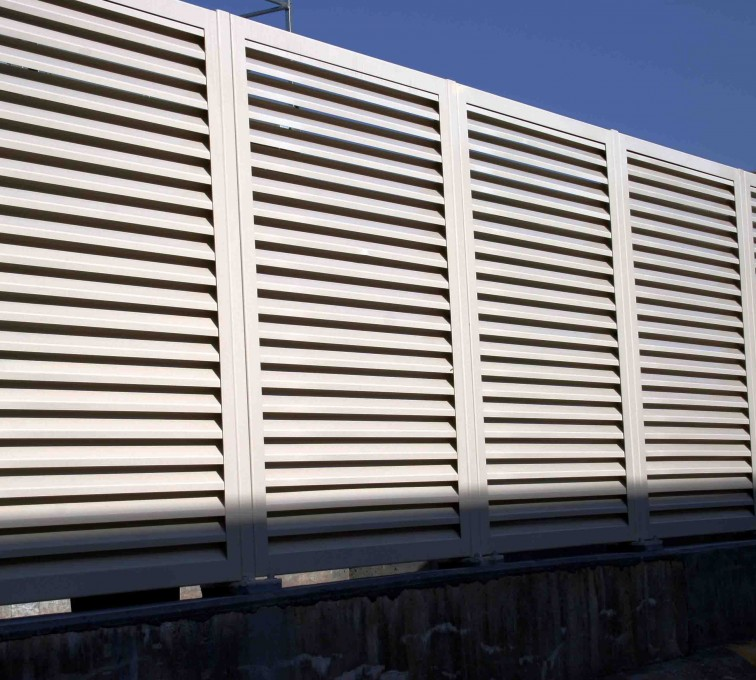 AFC Sioux City - Full framed louvered panels