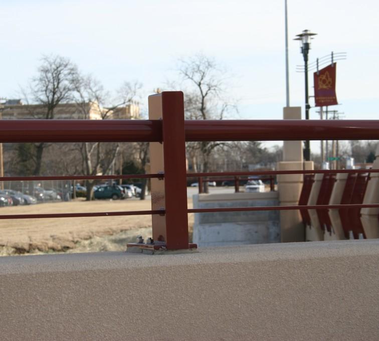 AFC Sioux City - Knee Wall Custom Railing