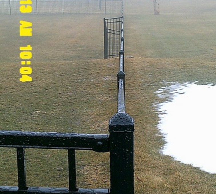 AFC Sioux City - 6 foot flat top Ornamental Fence