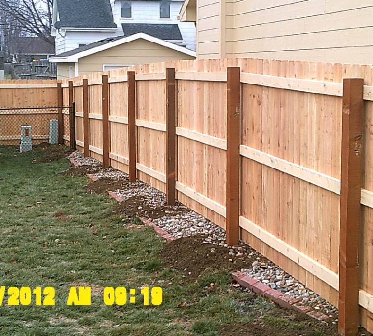 AFC Sioux City - Wood Fencing, 6' Wood Privacy