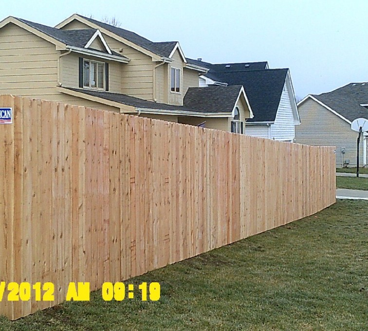 AFC Sioux City - Wood Fencing, 6' Wood Privacy - AFC - IA