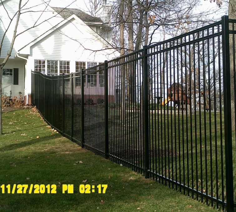 AFC Sioux City - 6 foot residential Ornamental Fencing