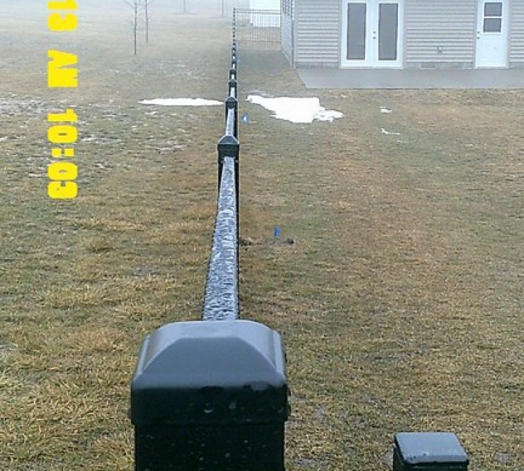 AFC Sioux City - 6' Flat Top Iron Fencing