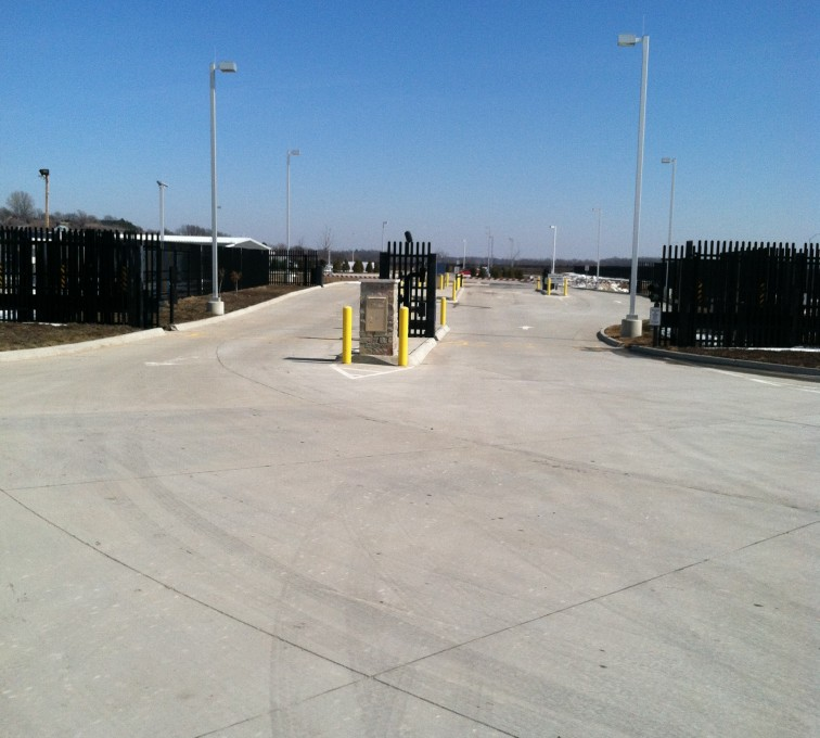 AFC Sioux City - Ornamental fence k-rated vehicle restraint system