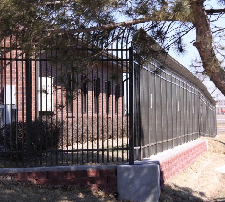 AFC Sioux City - Ornamental Security Fencing