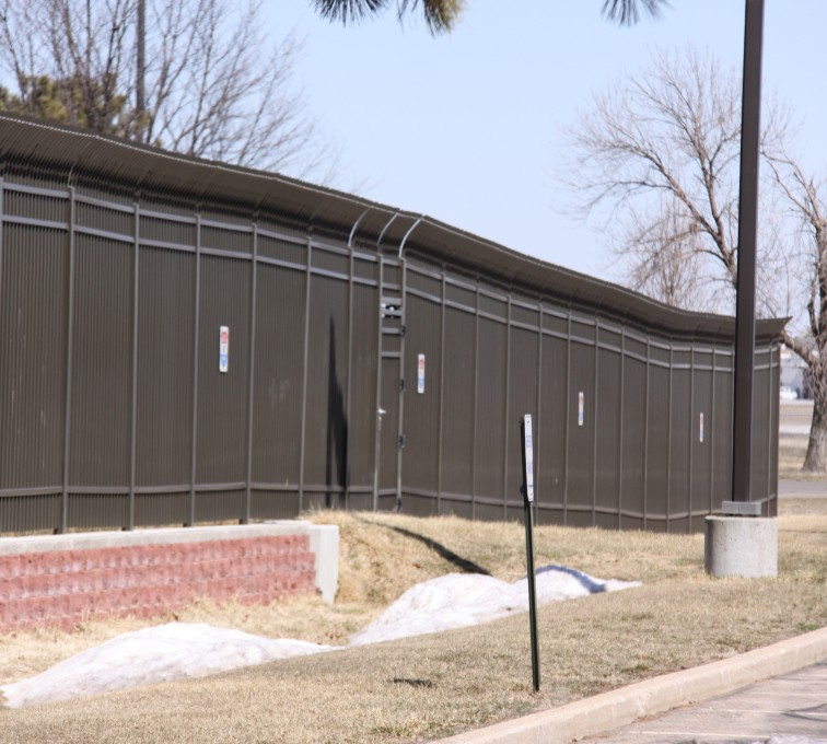 AFC Sioux City - Airport Security Ornamental Fencing