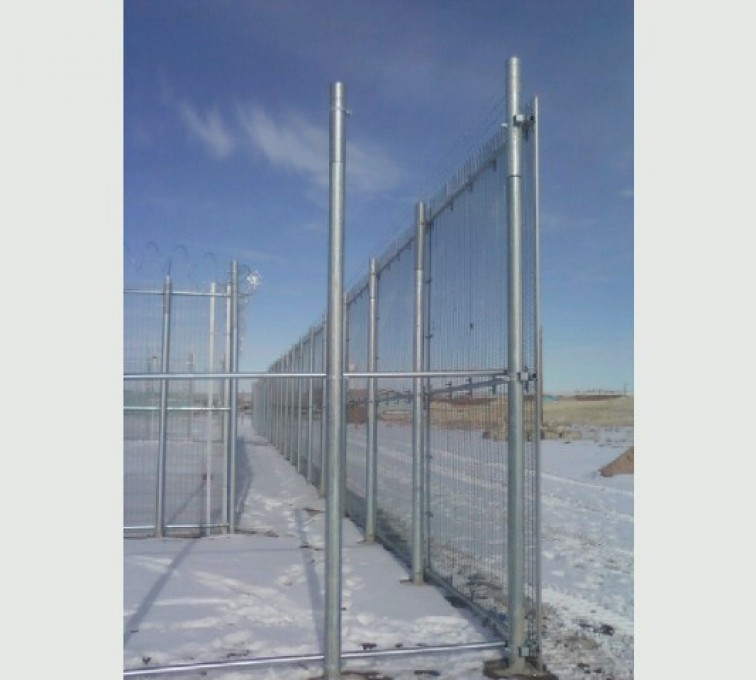 AFC Sioux City - High Security Anti-Climb Fencing