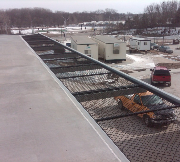 AFC Sioux City - Roofing galvanized chain link Bellevue Hospital