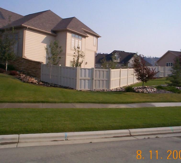 Shadow Box American Fence Company Sioux City