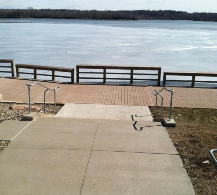 AFC Sioux City - Custom Galvanized Handrail
