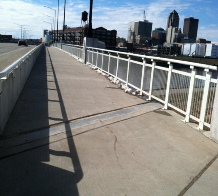 AFC Sioux City - Custom Ornamental Iron Railing