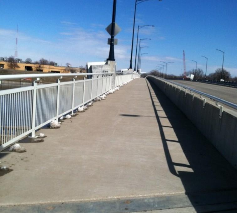 AFC Sioux City - Custom Iron Railing