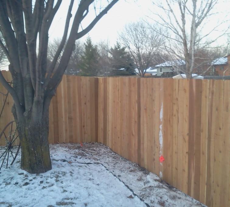 AFC Sioux City - Wood Fencing, Cedar Privacy 03 AFC, SD