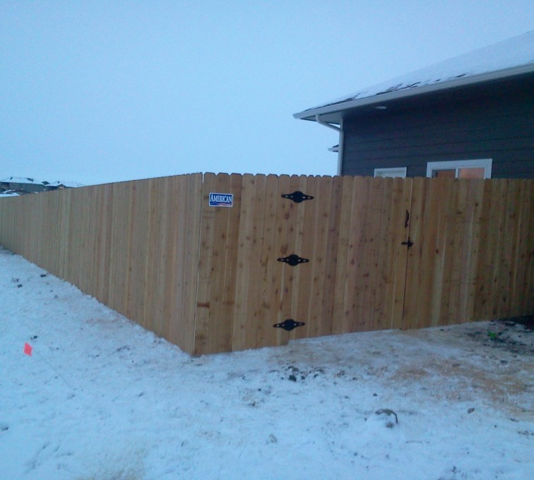 AFC Sioux City - Wood Fencing, Cedar Privacy AFC, SD