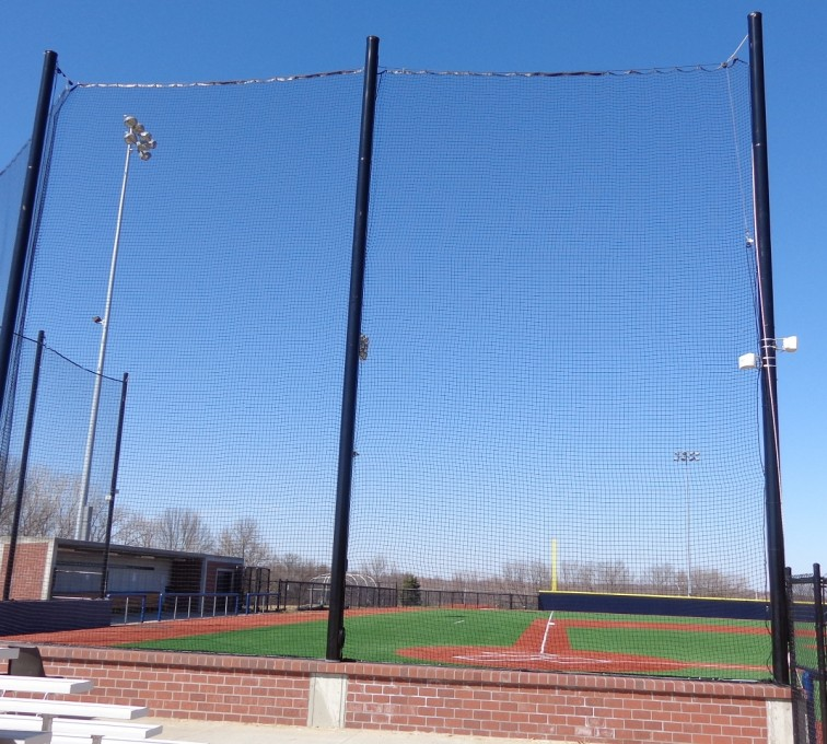 AFC Sioux City - Commercial back stop for baseball field