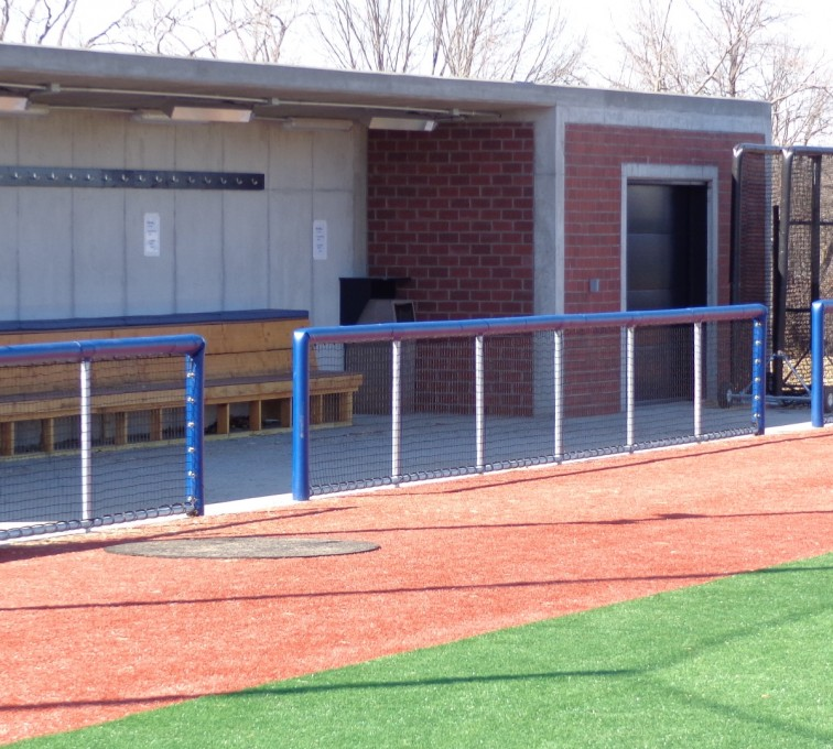 AFC Sioux City - Railing for sports fencing