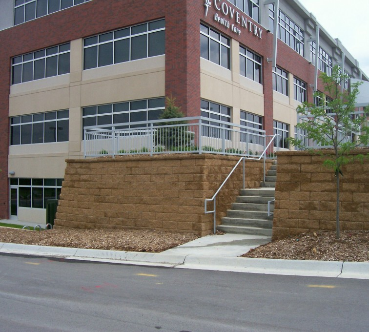 AFC Sioux City - Custom Railing for Covnetry in Omaha