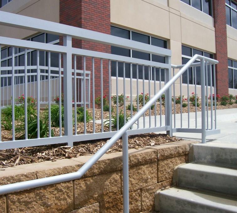 AFC Sioux City - Custom Outdoor Stair Railing