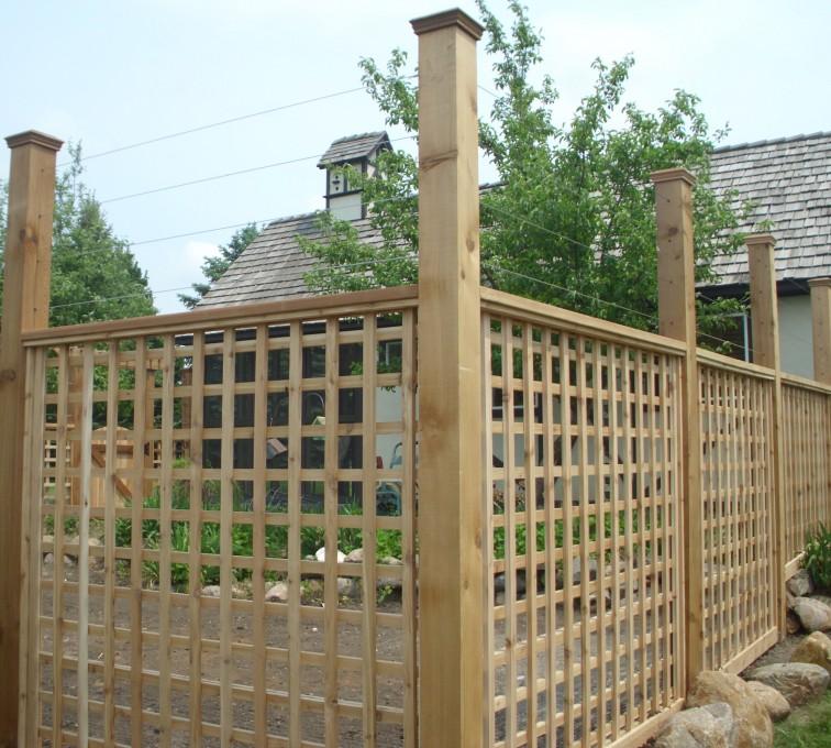AFC Sioux City - Wood Fencing, Custom Garden Fence 2 AFC, SD