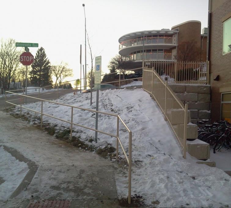 AFC Sioux City - Custom Sidewalk Hand Railing