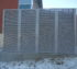 AFC Sioux City - Steel louvered fencing