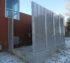 AFC Sioux City - Framed louver fence panels