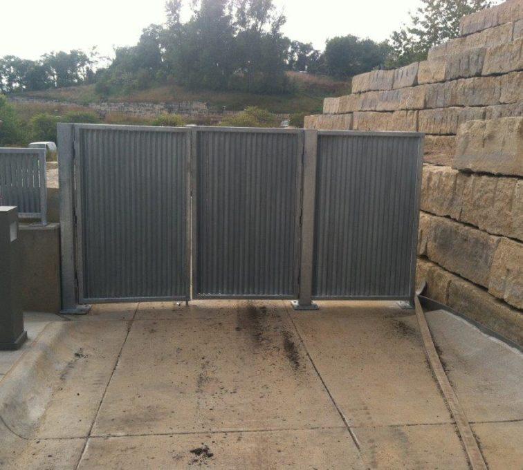 AFC Sioux City - Vertical Louver Drive Gate