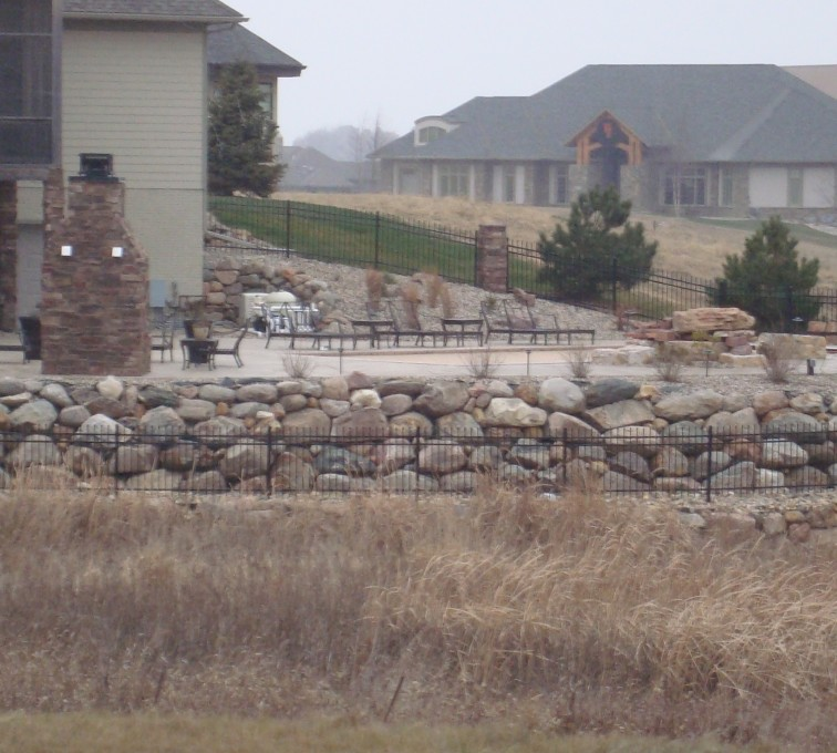 AFC Sioux City - Residential ornamental iron fencing