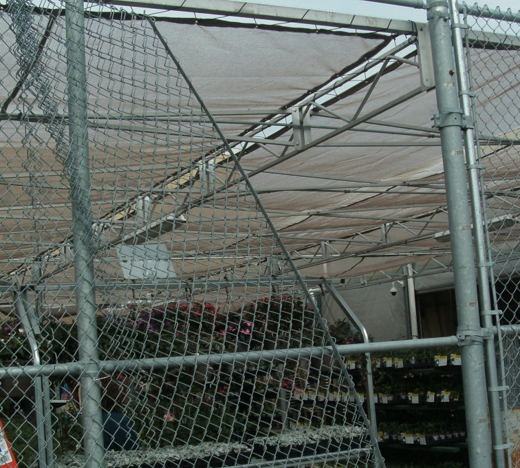 AFC Sioux City - Chain Link Fence Installation