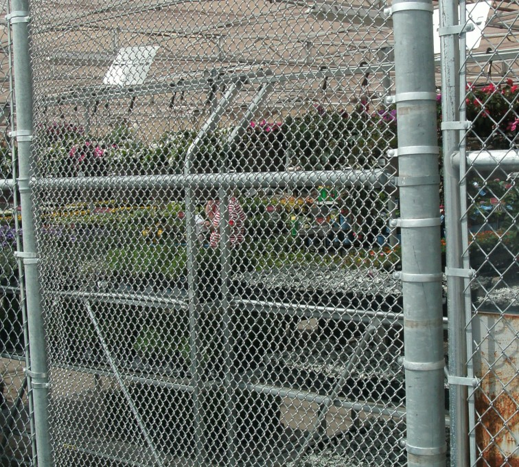 AFC Sioux City - Plant nursery chain link fencing