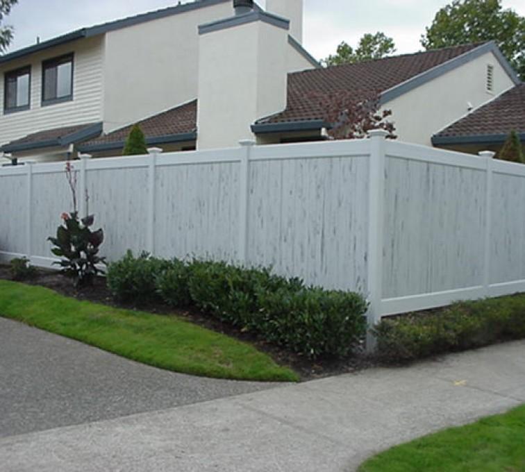 AFC Grand Island - Greystone PVC Fence