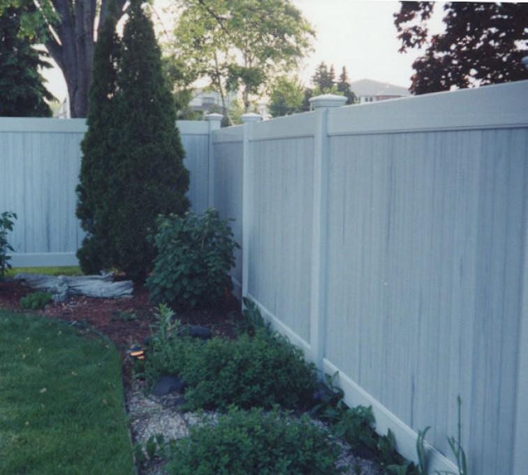 AFC Sioux City - Greystone Privacy PVC Fencing