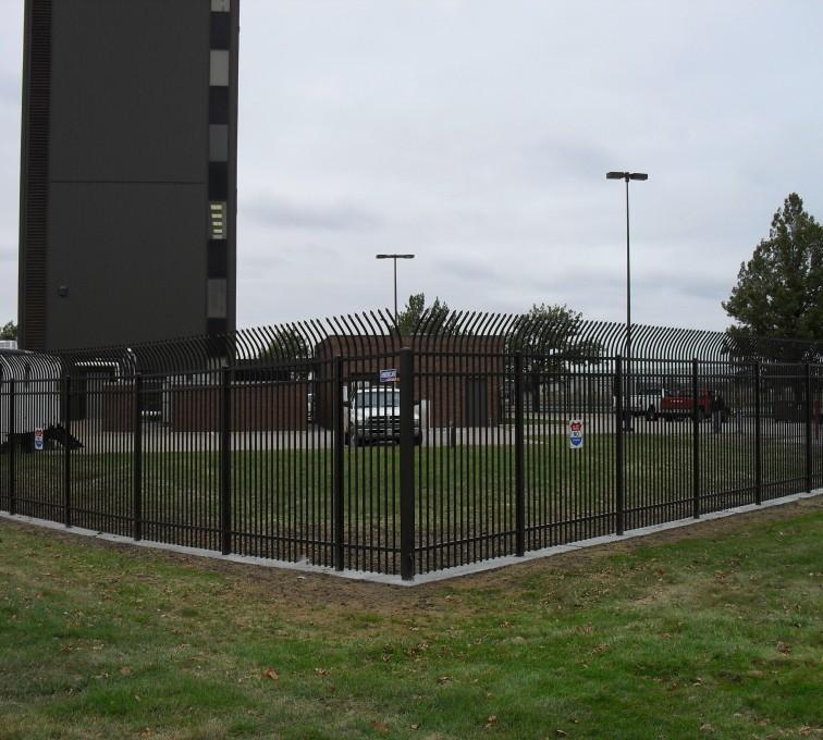 AFC Sioux City - High Security Ornamental Fencing