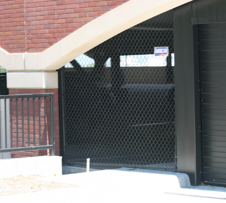 AFC Sioux City - Parking garage Chainlink Fencing