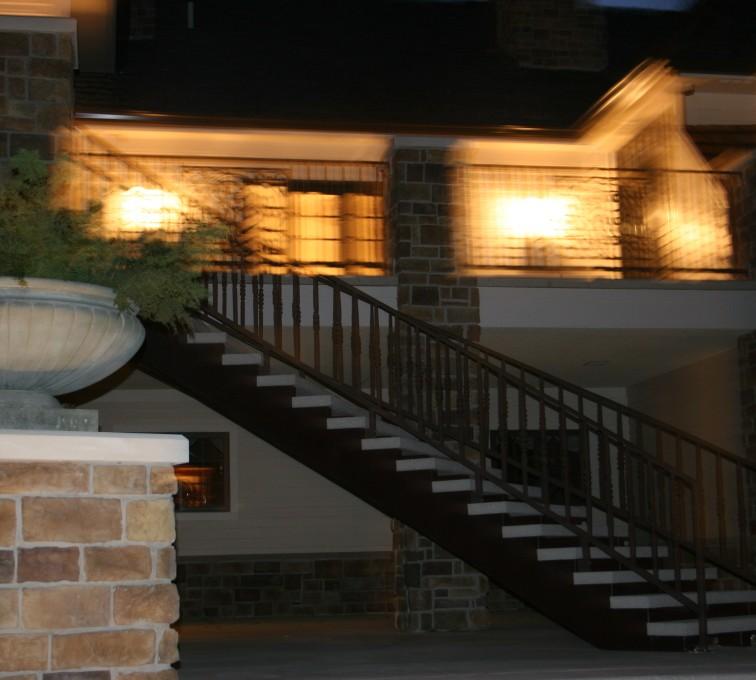 AFC Sioux City - Ornamental staircase railing