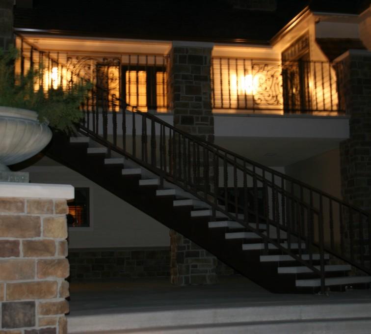AFC Sioux City - Custom Stair Railing