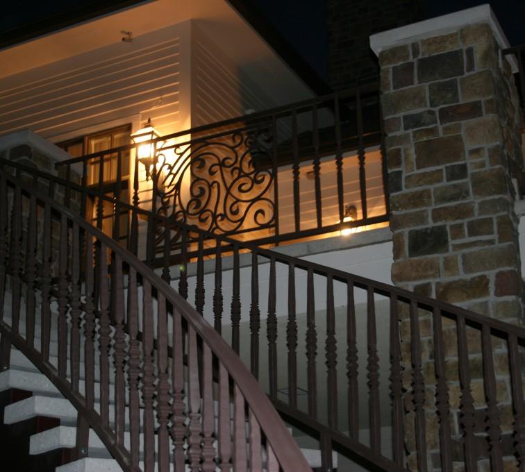 AFC Sioux City - Ornamental Custom Staircase Railing