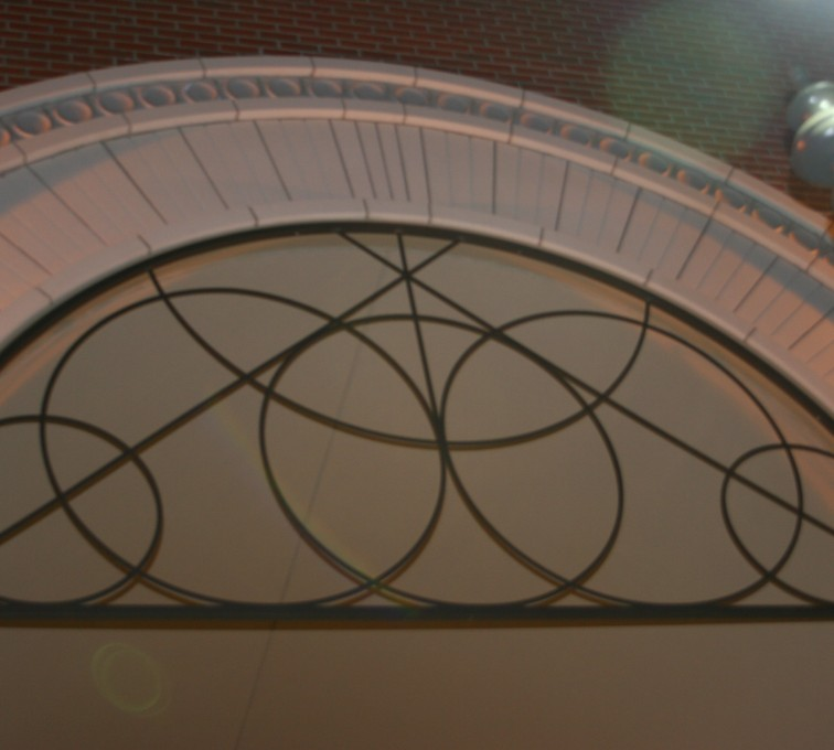 AFC Sioux City - Circular Decorative Custom Door Accent