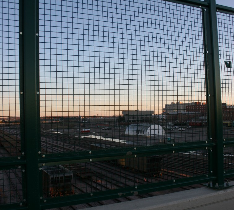 AFC Sioux City - Industrial wire mesh fence